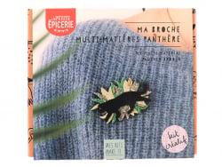 Acheter Kit MKMI - Ma broche multi-matières panthère - 16,99€ en ligne sur La Petite Epicerie - Loisirs créatifs
