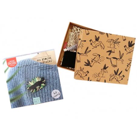Acheter Kit MKMI - Ma broche multi-matières panthère - 16,99€ en ligne sur La Petite Epicerie - 100% Loisirs créatifs