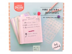 Acheter Kit MKMI - Mon agenda perpétuel - 16,99€ en ligne sur La Petite Epicerie - 100% Loisirs créatifs