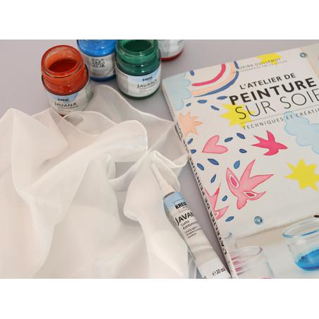 Acheter Coupon de soie pongé n°5 pour peinture sur soie - 90 x 90 cm - 9,99€ en ligne sur La Petite Epicerie - Loisirs créatifs