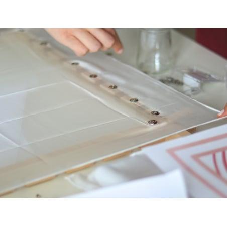 Acheter Cadre modulable à encoches pour peinture sur soie - 55 x 55 cm - 18,49€ en ligne sur La Petite Epicerie - Loisirs cr...