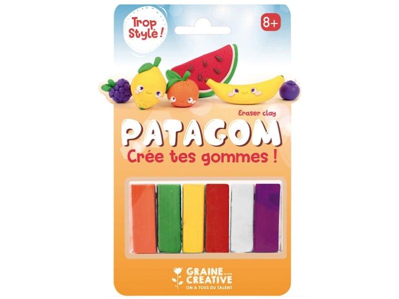 Acheter Patagom - blister de 6 pains Fruits - 9,99€ en ligne sur La Petite Epicerie - 100% Loisirs créatifs