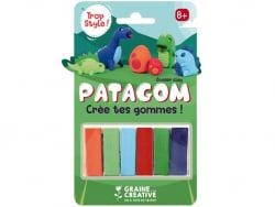 Acheter Patagom - blister de 6 pains Dinosaures - 9,99€ en ligne sur La Petite Epicerie - Loisirs créatifs