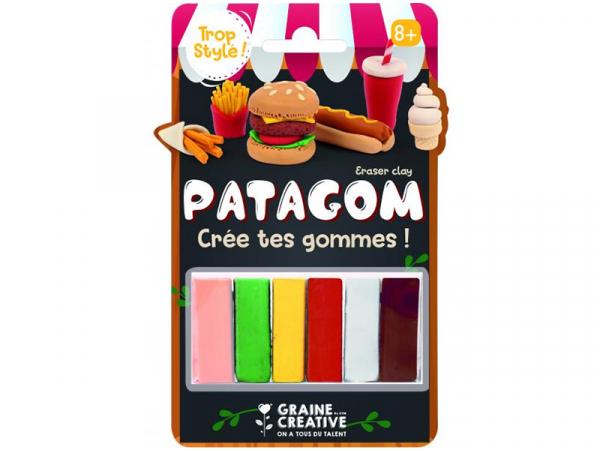 Acheter Patagom - blister de 6 pains Junk food - 9,99€ en ligne sur La Petite Epicerie - Loisirs créatifs