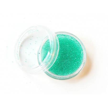 Microbilles Vert menthe translucide
