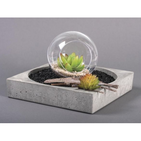 Acheter Succulente mini Echeveria verte - plante artificielle - 2,59€ en ligne sur La Petite Epicerie - 100% Loisirs créatifs