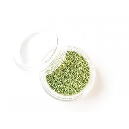 Microbilles Vert clair métallisé