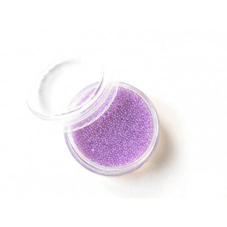 Acheter Microbilles Mauve pâle translucide - 1,99€ en ligne sur La Petite Epicerie - 100% Loisirs créatifs