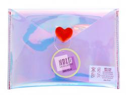 Acheter Pochette holographique et coeur - 8,49€ en ligne sur La Petite Epicerie - 100% Loisirs créatifs