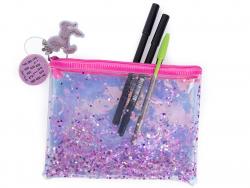 Acheter Pochette holographique licorne à paillettes - rose - 11,89€ en ligne sur La Petite Epicerie - 100% Loisirs créatifs