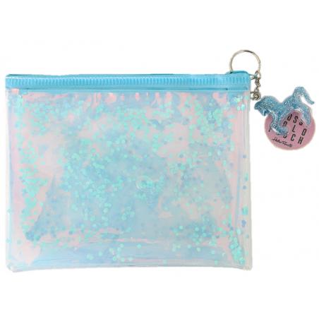 Acheter Pochette holographique licorne à paillettes - bleu - 11,89€ en ligne sur La Petite Epicerie - 100% Loisirs créatifs