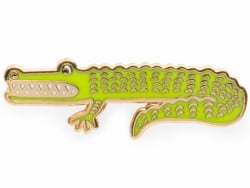 Pin's crocodile