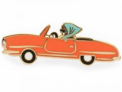 Pin's voiture rétro