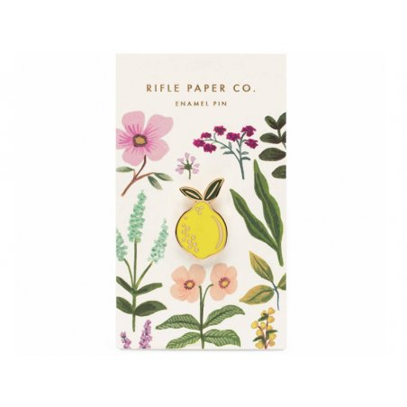Pin's citron Rifle Paper Co.