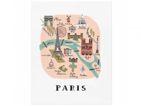 Acheter Affiche 20 x 25 cm - Monuments de Paris - 28,99€ en ligne sur La Petite Epicerie - Loisirs créatifs