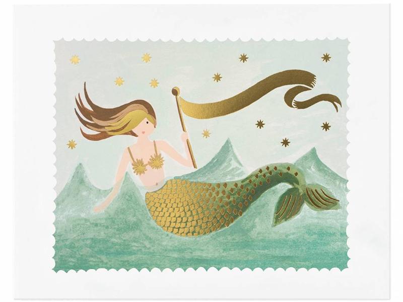 Acheter Affiche 20 x 25 cm - Sirène - 28,99€ en ligne sur La Petite Epicerie - Loisirs créatifs