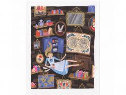 Affiche 20 x 25 cm - Alice