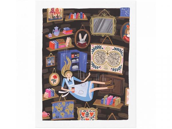 Acheter Affiche 20 x 25 cm - Alice - 28,49€ en ligne sur La Petite Epicerie - 100% Loisirs créatifs