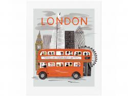 Acheter Affiche 20 x 25 cm - Londres - 28,49€ en ligne sur La Petite Epicerie - 100% Loisirs créatifs