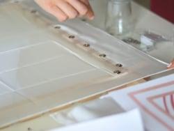 Acheter Cadre modulable à encoches pour peinture sur soie - 100 x 100 cm - 22,49€ en ligne sur La Petite Epicerie - 100% Loi...