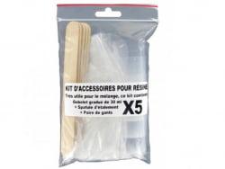 Acheter Kit d'accessoires pour résine - 4,49€ en ligne sur La Petite Epicerie - Loisirs créatifs