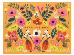 Acheter Carte d'anniversaire - Folk - 4,99€ en ligne sur La Petite Epicerie - 100% Loisirs créatifs