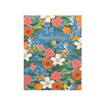 Acheter Carte d'anniversaire - Orangerie - 4,99€ en ligne sur La Petite Epicerie - 100% Loisirs créatifs