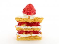 Acheter Mille-feuilles aux fraises et à la crème - 1,99€ en ligne sur La Petite Epicerie - Loisirs créatifs