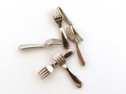 Acheter Lot de 6 fourchettes miniatures - 1.9 cm - 3,99€ en ligne sur La Petite Epicerie - 100% Loisirs créatifs