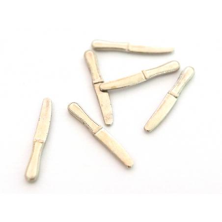 Acheter Lot de 6 couteaux miniatures - 2.1 cm - 3,99€ en ligne sur La Petite Epicerie - Loisirs créatifs