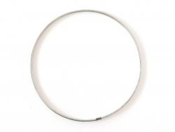 Cercle en métal argenté 10...