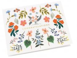 Acheter Carte de Félicitations - Fleurie - 4,99€ en ligne sur La Petite Epicerie - Loisirs créatifs