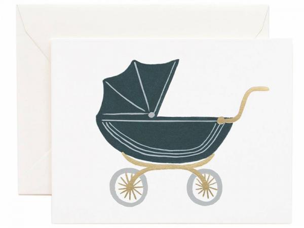 Acheter Carte de Naissance - Landau - 4,99€ en ligne sur La Petite Epicerie - Loisirs créatifs