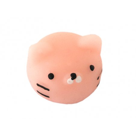 Acheter Mini squishy tête de chat rose - anti stress - 1,99€ en ligne sur La Petite Epicerie - Loisirs créatifs