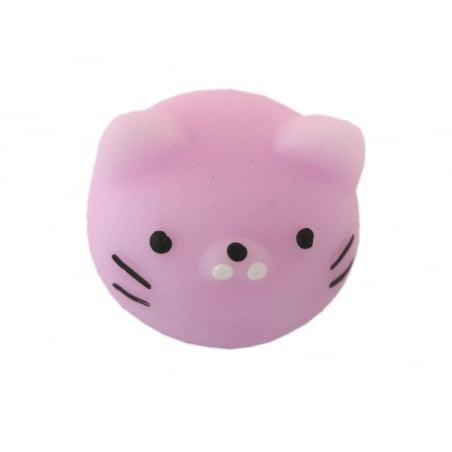 Acheter Mini squishy tête de chat mauve - anti stress - 1,99€ en ligne sur La Petite Epicerie - Loisirs créatifs