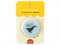 Acheter Pop phone - Baleine - 3,49€ en ligne sur La Petite Epicerie - 100% Loisirs créatifs