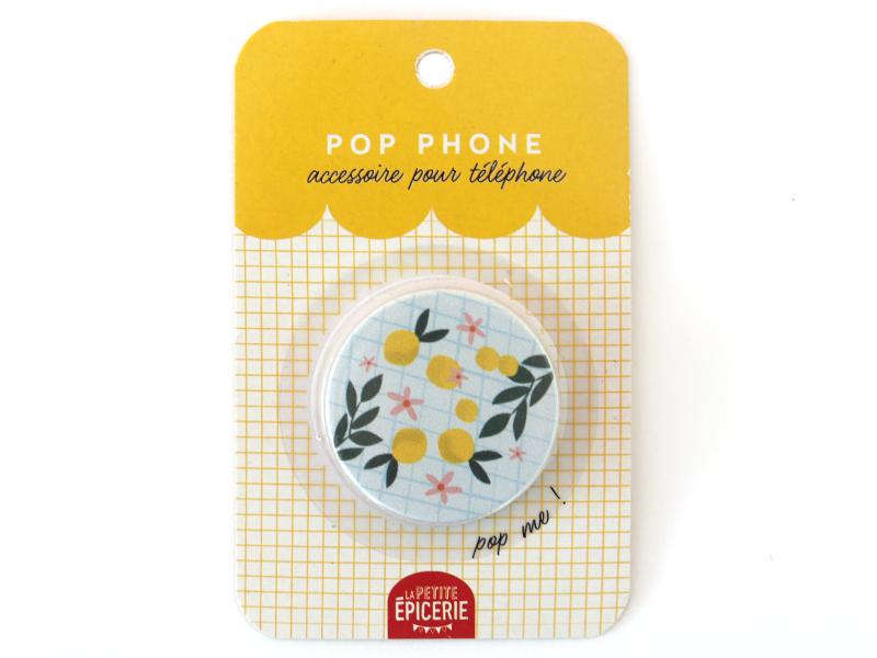 Acheter Pop phone - Citrons - 3,49€ en ligne sur La Petite Epicerie - 100% Loisirs créatifs