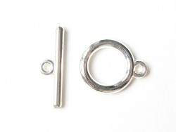 1 toggle clasp - light silver