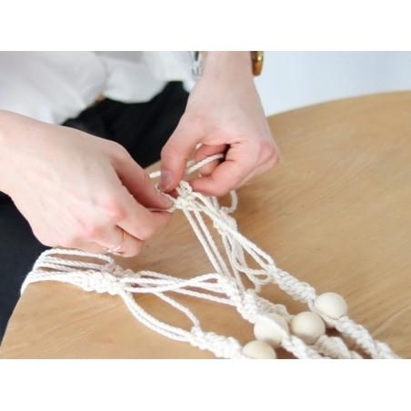 Acheter Bobine de fil de coton pour macramé - 6 mm - Voile de Brume - 19,99€ en ligne sur La Petite Epicerie - Loisirs créatifs