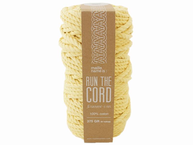 Acheter Bobine de fil de coton pour macramé - 6 mm - Mimosa - 19,99€ en ligne sur La Petite Epicerie - 100% Loisirs créatifs