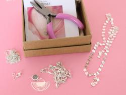 Acheter Collier Multi-rangs Camille - Kit bijoux précieux plaqué argent 925 - 19,90€ en ligne sur La Petite Epicerie - 100% ...