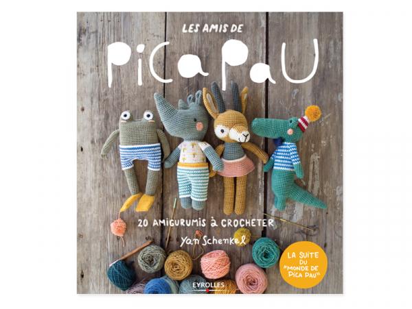 Acheter Livre Les amis de Pica Pau - 20 amigurumis à crocheter - 19,00€ en ligne sur La Petite Epicerie - Loisirs créatifs