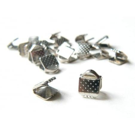 Acheter Fermoir griffe pour biais de tissu 5 mm - Argenté foncé - 0,19€ en ligne sur La Petite Epicerie - Loisirs créatifs