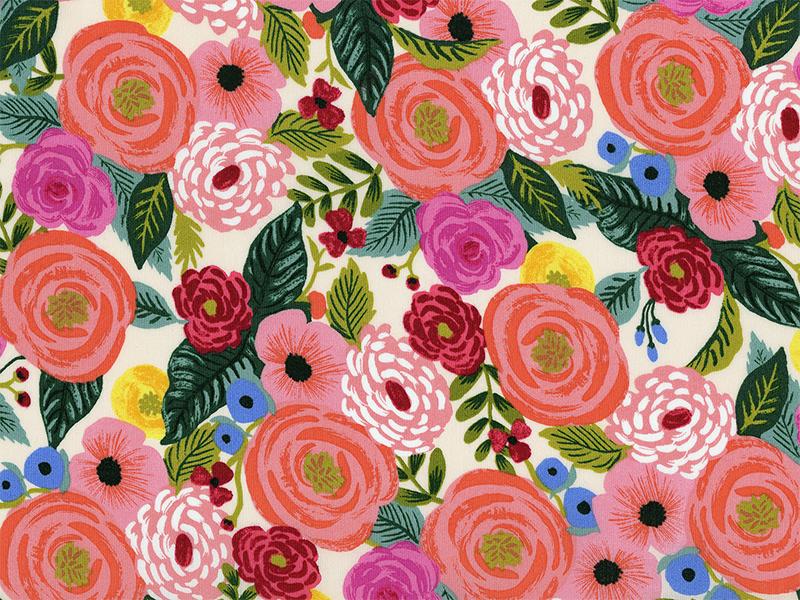 Acheter Tissu viscose Rifle Paper - Juliet Rose Cream - 2,63€ en ligne sur La Petite Epicerie - 100% Loisirs créatifs