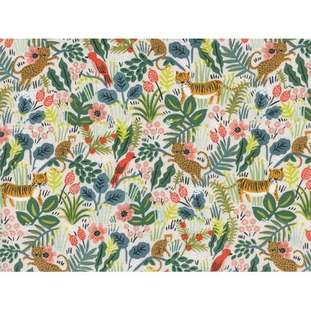 Acheter Tissu coton Rifle Paper - Jungle - 2,15€ en ligne sur La Petite Epicerie - 100% Loisirs créatifs