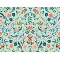 Tissu coton Rifle Paper - Wildwood Mint