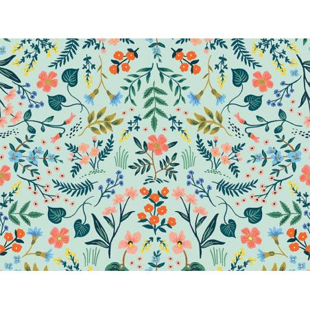 Acheter Tissu coton Rifle Paper - Wildwood Mint - 2,25€ en ligne sur La Petite Epicerie - 100% Loisirs créatifs