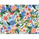 Tissu coton Rifle Paper - Petite Garden Party Blue