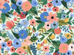 Acheter Tissu coton Rifle Paper - Petite Garden Party Blue - 2,19€ en ligne sur La Petite Epicerie - 100% Loisirs créatifs