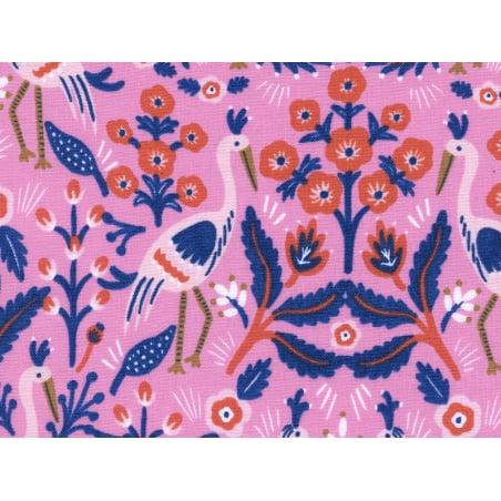 Acheter Tissu coton Rifle Paper - Tapestry Rose - 2,15€ en ligne sur La Petite Epicerie - 100% Loisirs créatifs